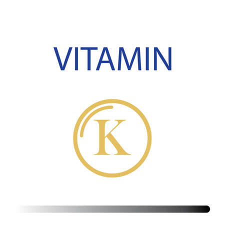 Vitamin K icons vector illustration design template Vettoriali