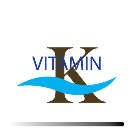 Vitamin K icons vector illustration design template Illustration
