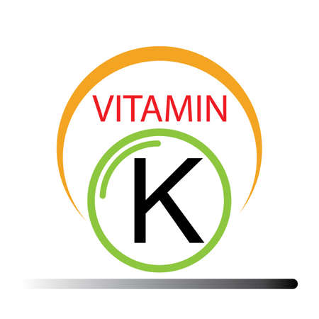Vitamin K icons vector illustration design template
