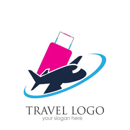 Travel logo vector icon design template-vector