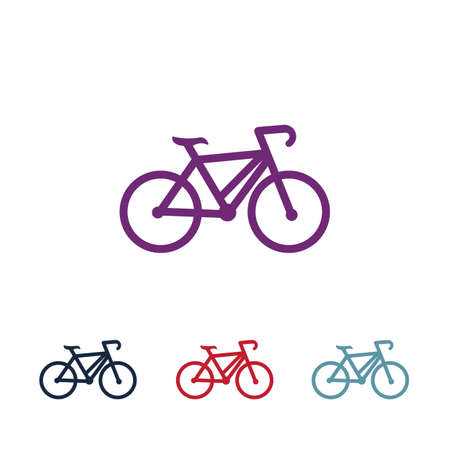 Bicycle logo vector template