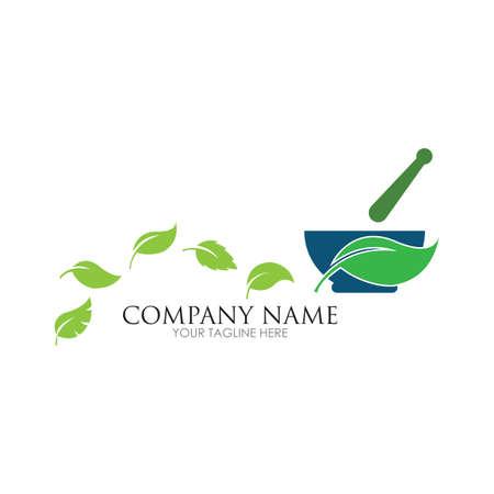 Creative Pharmacy Concept Logo illustration Design template - vector