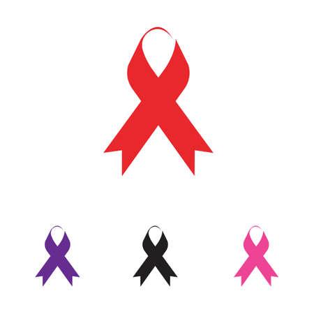 colorful ribbons symbol illustration design template - vector Stock Illustratie