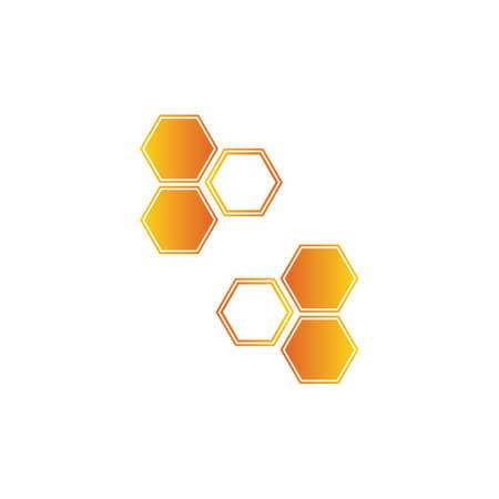 Honeycomb background texture illustration design