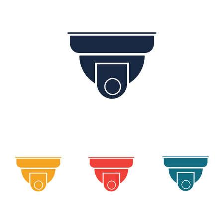 Security camera cctv icon,sign CCTV vector design Vector illustration of cctv and camera symbol Illustration