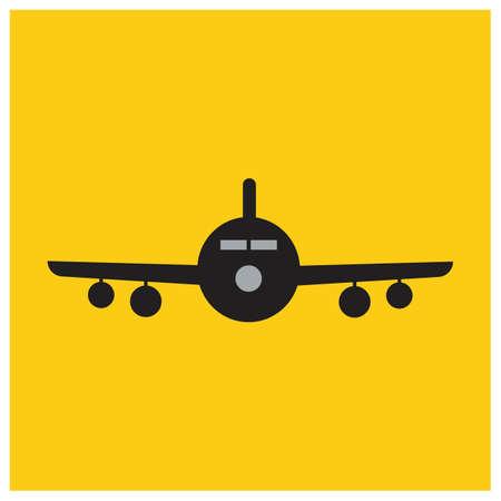 Airplane logo Template vector illustration icon design Plane Icon Vector.