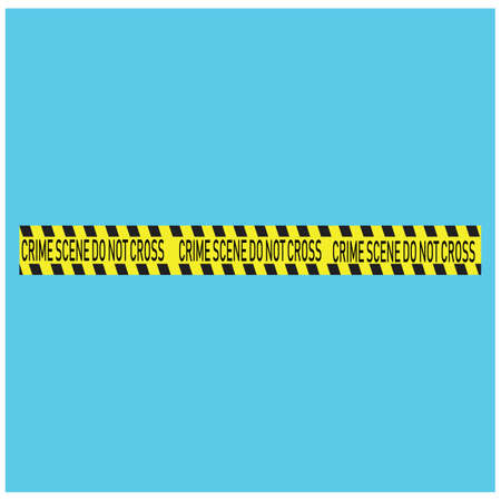 Black and yellow police stripe Vector illustration design Vektoros illusztráció