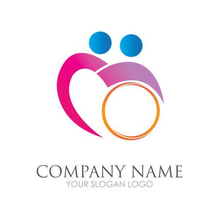disability logo vector illustration design template - vector Reklamní fotografie - 157217896