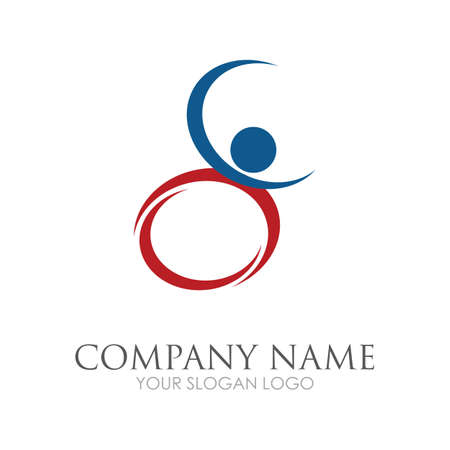 disability logo vector illustration design template - vector Reklamní fotografie - 157217904