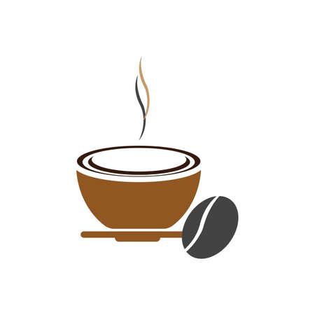 Coffee cup Logo Template vector icon design Reklamní fotografie - 157344361