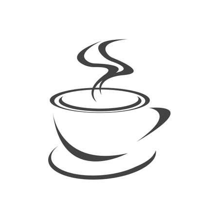 Coffee cup Logo Template vector icon design Reklamní fotografie - 157344374