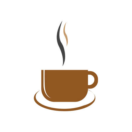 Coffee cup Logo Template vector icon design Reklamní fotografie - 157345077