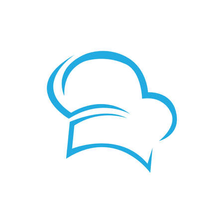 hat chef icon template vector illustration and symbol vector template
