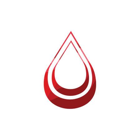 Blood Donation Logo Template Design VectorBlood logo template vector icon Logos