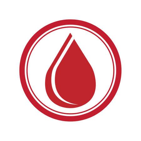 Blood Donation Logo Template Design Vector Blood logo template vector icon Reklamní fotografie - 158451739