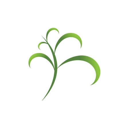 natural leaf logo vector illustration design template Reklamní fotografie - 158628409
