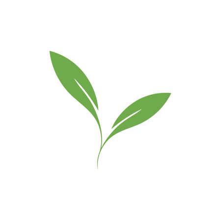 natural leaf logo vector illustration design template Reklamní fotografie - 158628493
