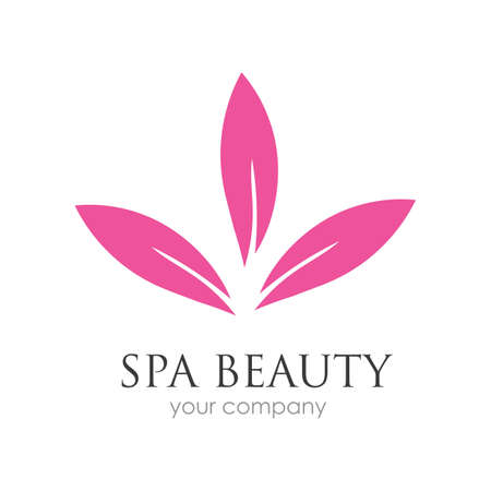spa logo vector illustration design template