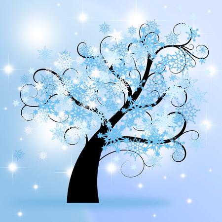 winter tree: winter tree