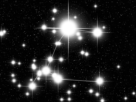 canis: Canis Maior constellation with Sirius