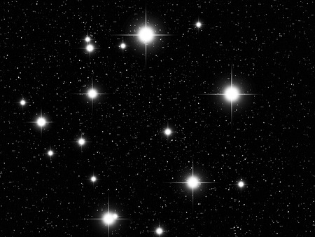 libra zodiac: Libra Zodiac sign bright stars in cosmos