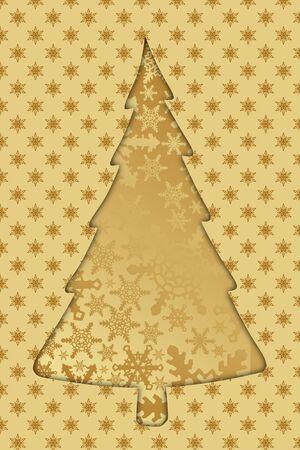 curving: christmas tree