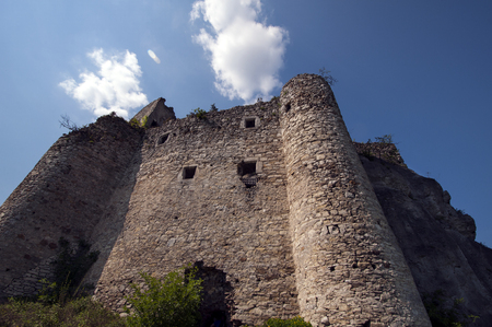 mirow: knights castle in Mirow, Poland Stock Photo