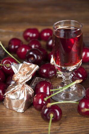 liqueur: chockolate and liqueur