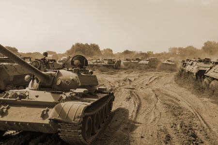 battle field Stock Photo