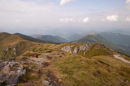 landscapes of mountaind, Little Farta, Mala Fatra, Slovakia Stock Photo