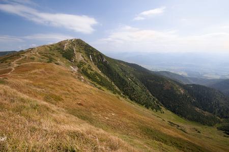 landscapes of mountaind, Little Farta, Mala Fatra, Slovakia Imagens
