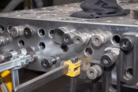 professional welding table Reklamní fotografie