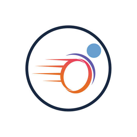 disability logo vector illustration design template