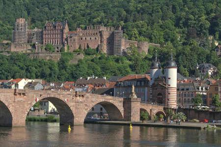 the historical castle of Heidelberg, Germany Stock Photo