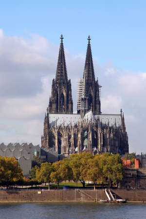 the cathedral of Cologne, Germany photo