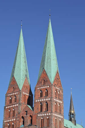 mary's: St  Marys Church of Luebeck, Germany