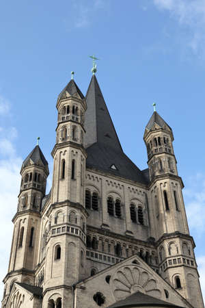 St  Martin church of Cologne, Germany photo