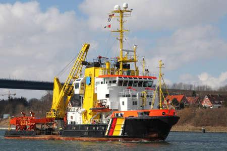 tugboat: tugboat and fireboat