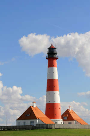 westerheversand lighthouse: lighthouse of Westerheversand