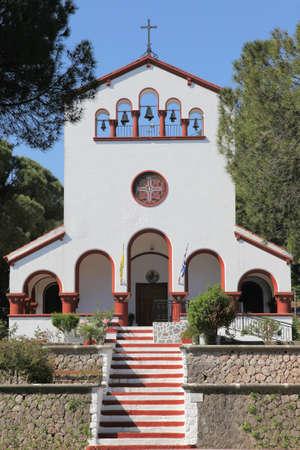 church in Eleoussa on Rhodes island, Greece