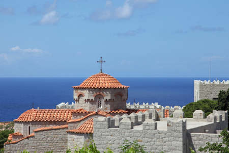 nunnery of Evangelismos on Patmos island, Greece