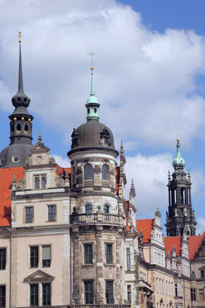 old town of Dresden, Germany