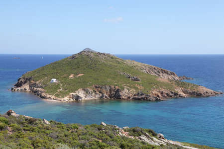 small island with a chapel, Patmos