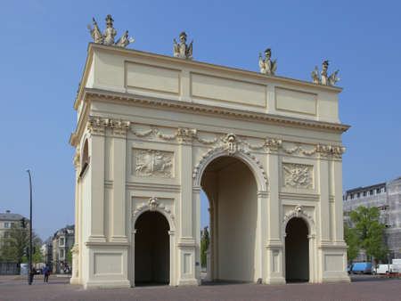 brandenburg gate: Brandenburg Gate in Potsdam, Germany