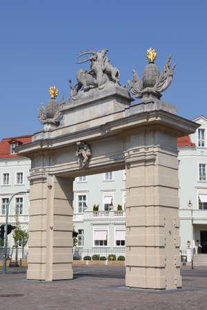 Hunters Gate in Potsdam, Germany