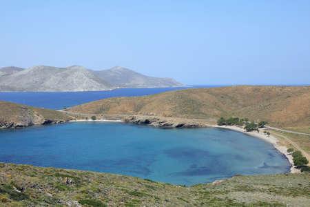 isthmus on the greek island Astypalaia