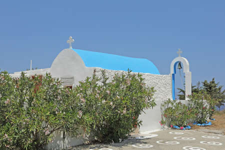 church Agios Ioannis on the island Astypalaia, Greece