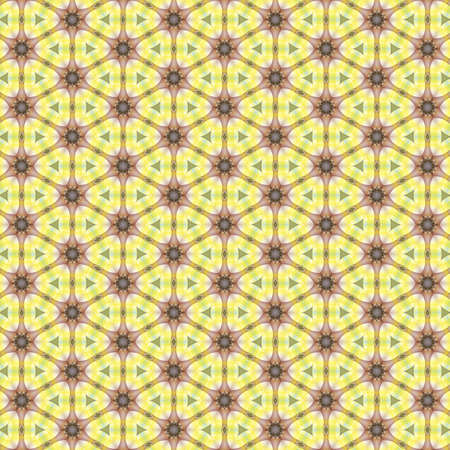 Geometric kaleidoscope multicolored seamless pattern for wallpaper banner fabric garment digital printing graphic or concept design
