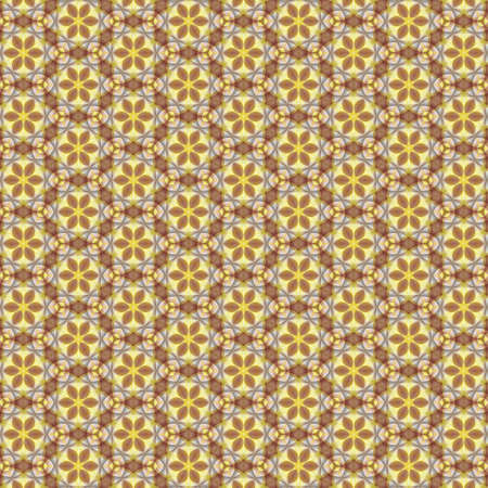 Luxury background with decorative geometric ornament for printing on fabric, paper for scrapbook, wallpaper, cover, page book. Standard-Bild