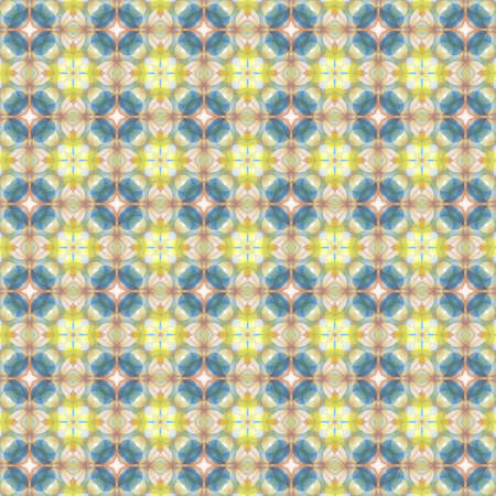 Kaleidoscope seamless pattern for printing on fabric, paper for scrapbook, wallpaper, cover, page book.